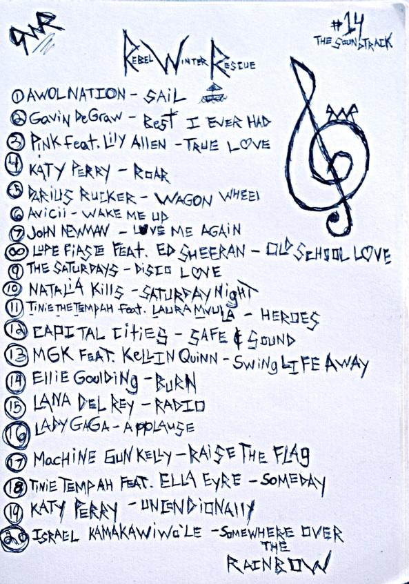 RWR Soundtrack Listing