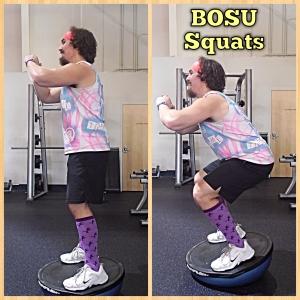 BOSU Squats