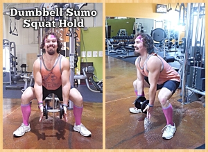 Dumbbell Sumo Squat Hold