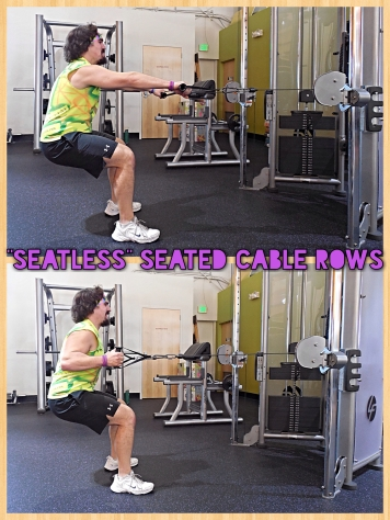 Seatless Seated Cable Rows