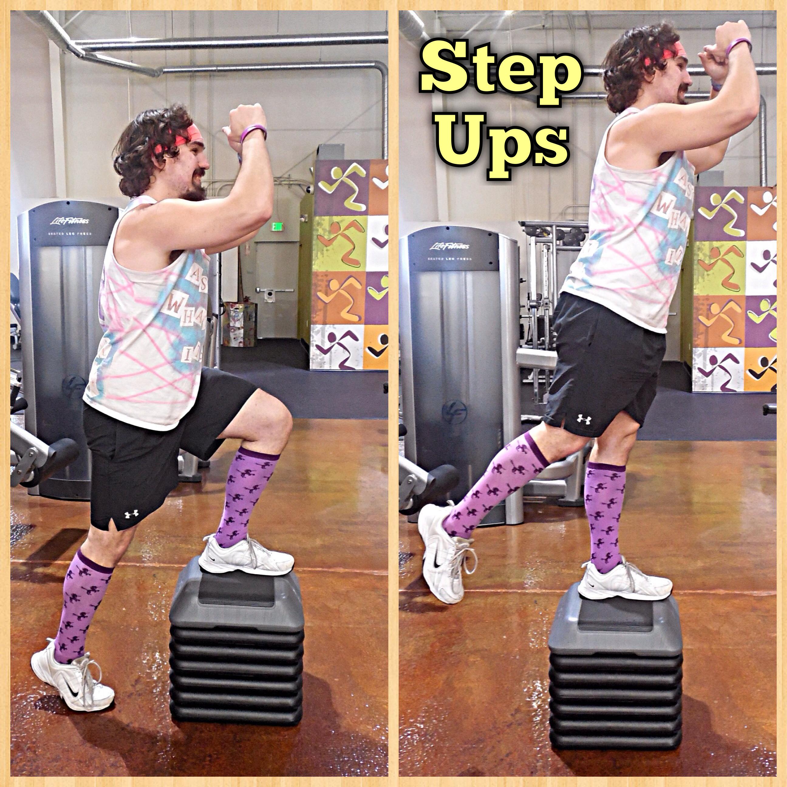 Step platform do it yourself. Exercises on a step platform 98