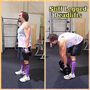 Stiff Legged Deadlifts