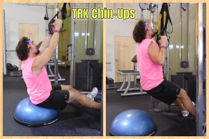 TRX Chin Ups