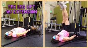 TRX Leg Lift w- Extension