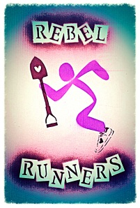 "Click the photo to ""Like"" our ""Rebel Runners 3k - 10k"" Facebook page and sign up to run with us!!"