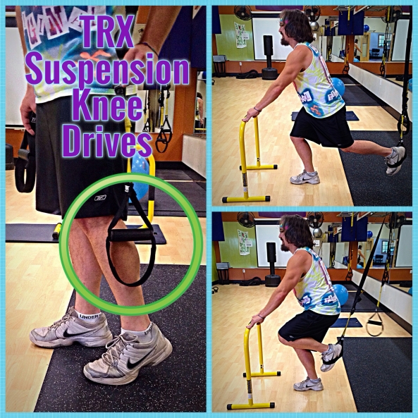 TRX Suspension Knee Drive