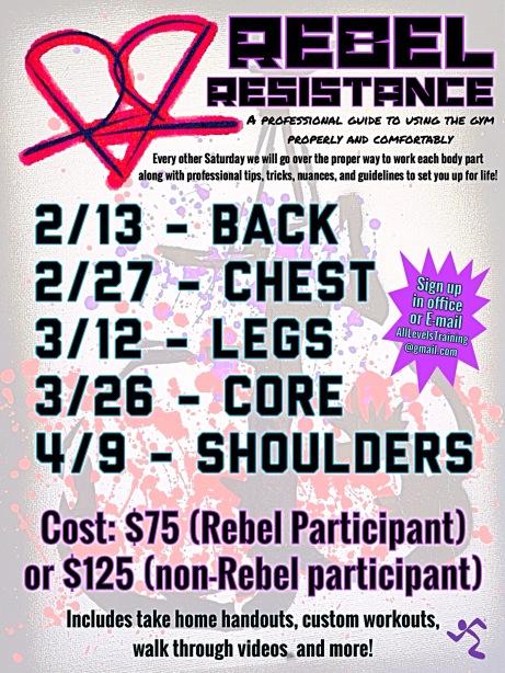 Rebel Resistance Promo